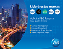 Social Media and HR graphics for P&G Latam