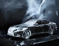 Lexus LS / 3D mapping