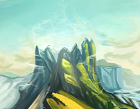 Mountain / Concept Art
