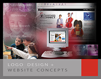 Corporate ID Design and Website Concepts