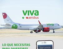 Diseño de app vivaaerobus