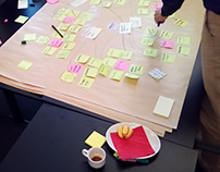 Rechtspraak brainstorms and prototyping