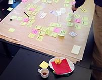 Rechtspraak brainstorms and prototyping