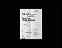 resume graphic designer