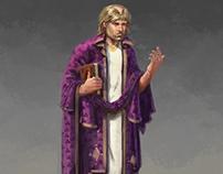 Early Medieval Irish Evangelist Monk
