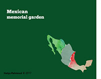 Mexican memorial garden