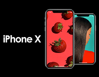 60+ Apple iPhone X Mockup Templates Collection
