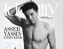 Actor Asser Yassin Cover Shoot - Identity Magazine