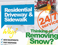 Snow Removal Service Flyers