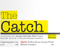 The Catch: A conceptual weekly newspaper for the youth