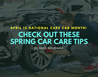 April is National Car Care Month: Spring Car Care Tips