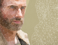 Rick Grimes Low Poly