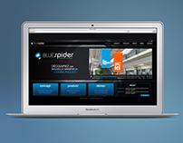 Bluespider website - UI/UX