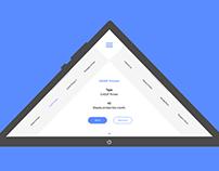 Sabre Printers   Pyramid App UI Design and Rebrand