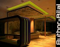 Interior made in revit