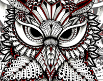 one thousand eyes owl