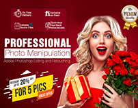 Professional Photo Manipulation and Photoshop Editing