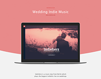 Indieherz Wedding Website