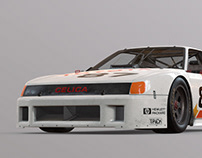 Celica GTO mid poly + giveaway
