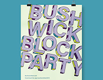 Festival Branding: Bushwick Block Party