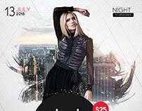 Club Minimal - PSD Flyer Template