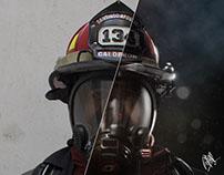 Peruvian Firefighter / Bombero Peruano