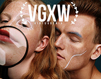 """In love with the faces"" cover story for VGXW magazine"