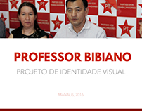 Identidade Visual - Professor Bibiano (2015)