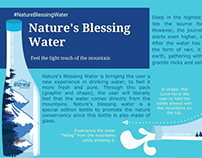Nature's blessing water- Service Design