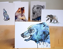 Animal Greeting Cards