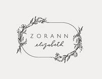 Zorann Elizabeth - Illustrated Logo Design