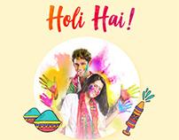 Holi Hai Inapp View Design
