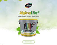 Filli Boya AlpinaLife Landing Page
