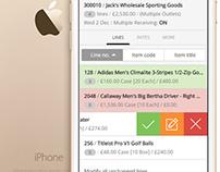 Stock Receiving App 2015
