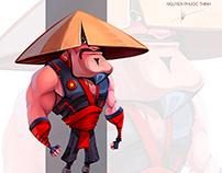 Vietnam warrior (Character design)