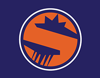 Phoenix Suns Secondary Logo Design