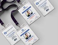 Free PSD Employee ID Card Design