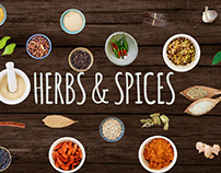 Herbs and Spices - Isolated Images