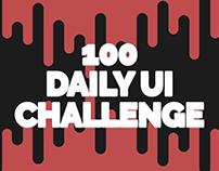 Daily UI Challenge (WIP)