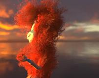 Stylized avenger endgame effect amimation Houdini