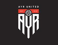 Ayr United - Rebrand