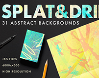 Spalt & Drip Abstract Image Bundle Pack