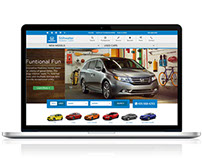 Stillwater Honda Cars | Website Design