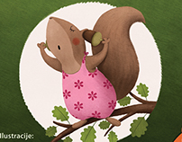 Angry squirrel doesn't listen ::: educational pic book