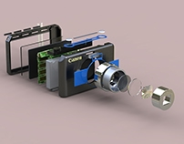 Solidworks: Canon Point & Shoot Camera