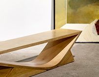 The studio of Inna Pedan. The bench. 2016