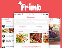 Food Recipe Sharing App - Frimb