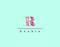 Branding for Raania - an Indian fashion brand