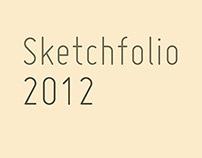 sketchfolio 2012