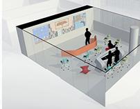 """NCSU Hunt Library """"spaces"""""""